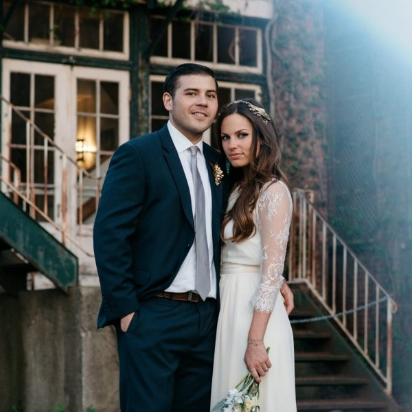 Rachel+George's Revolution Hall Wedding