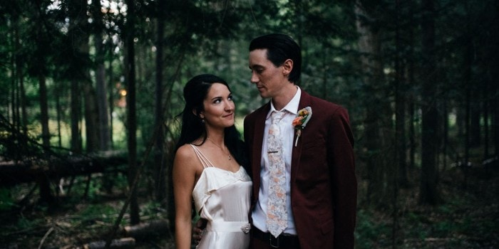 Meg+Owen's Woodsy Upstate NY Wedding