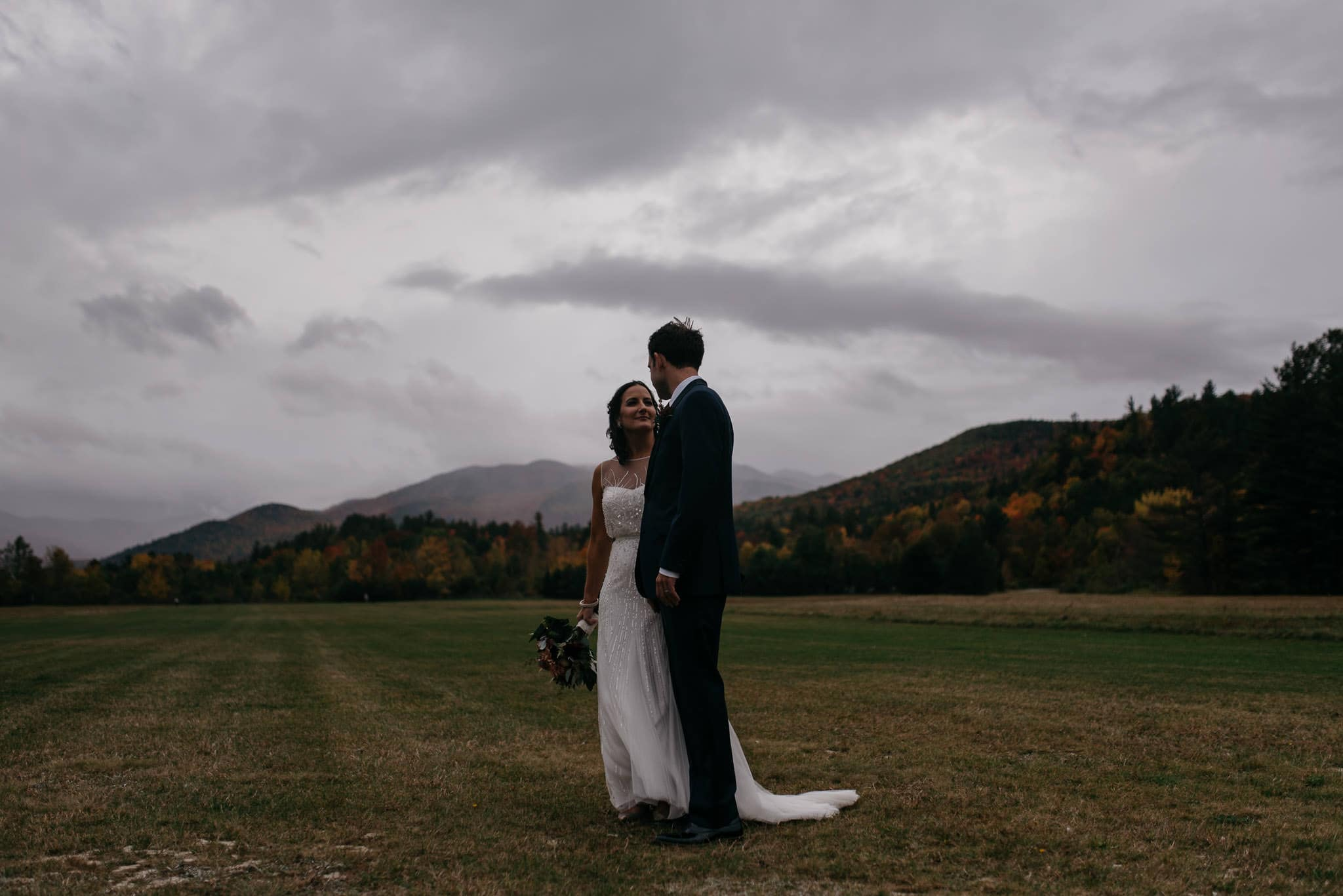Marcy Field Wedding Keene Adirondacks