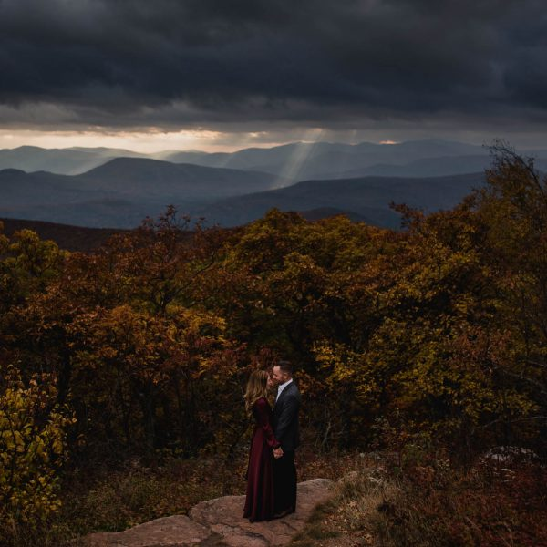 Caitlin+Graig's Overlook Mountain Couples Session