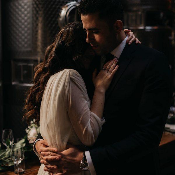 Anna+Ben's Brooklyn Winery Wedding