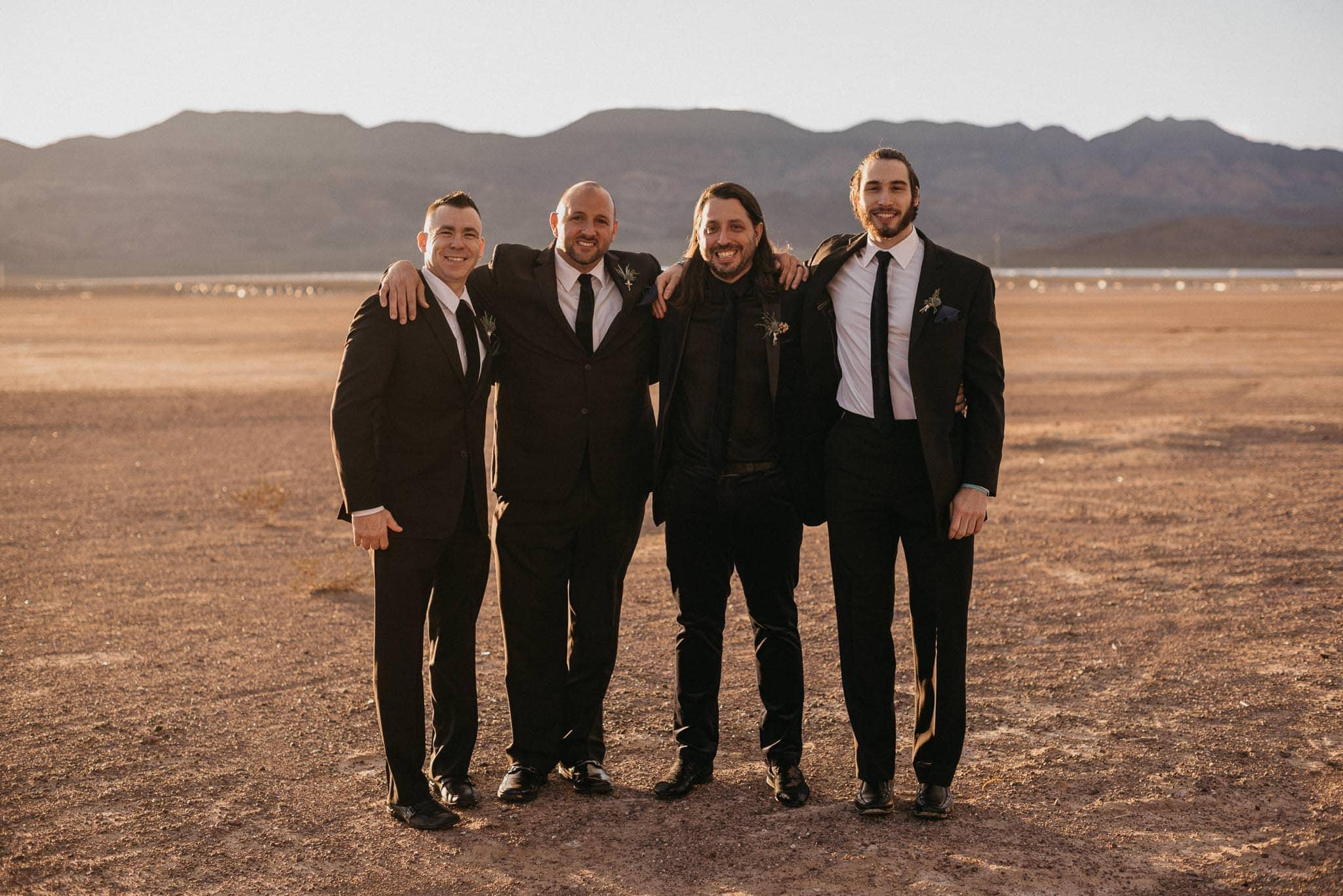 el dorado dry lake bed wedding